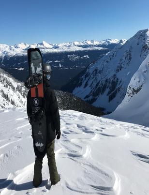 Board Bootie in British Columbia - February '18
