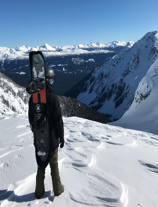Board Bootie in British Columbia - February '18