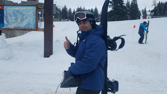 Jason Angelides at Brighton in Utah - January '18