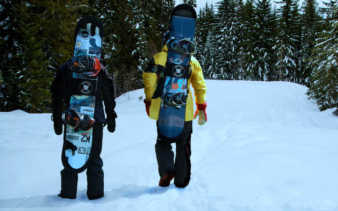 Got a hill to climb? Do it HANDS-FREE with a BOARD BOOTIE