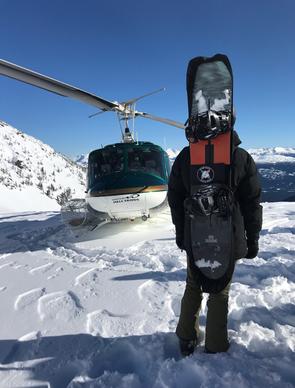 Board Bootie in British Columbia February '18