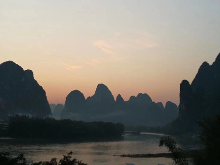 Really amazing view on the Li River!