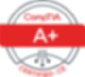 CompTIA A Plus Certified Logo