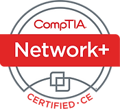 CompTIA Network Plus Certified Logo