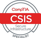 CompTIA Secure Infrastructure Specialist Certified Logo