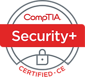 CompTIA Security Plus Certified Logo
