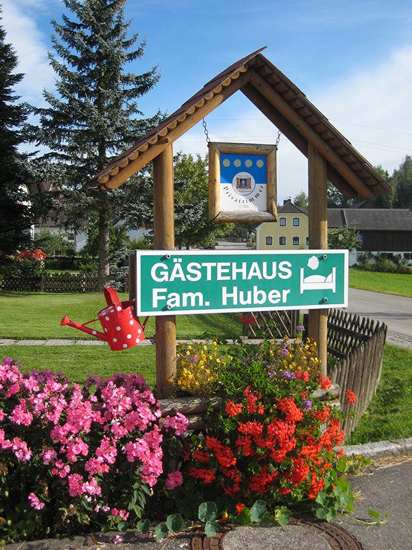 Gästehaus Fam. Huber Einfahrt