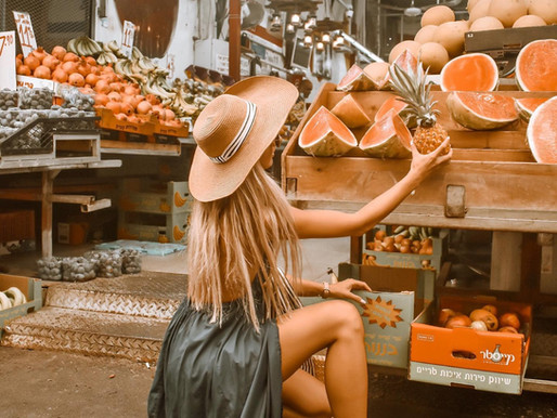 Photoshoot Idea: Fruit Stand and 5 Tips To Recreate It