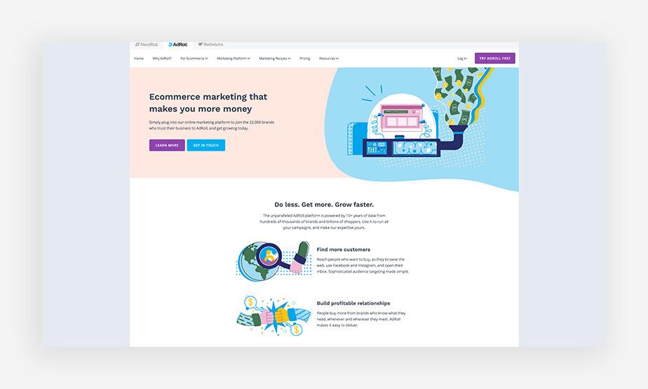 AdRoll online marketing tools