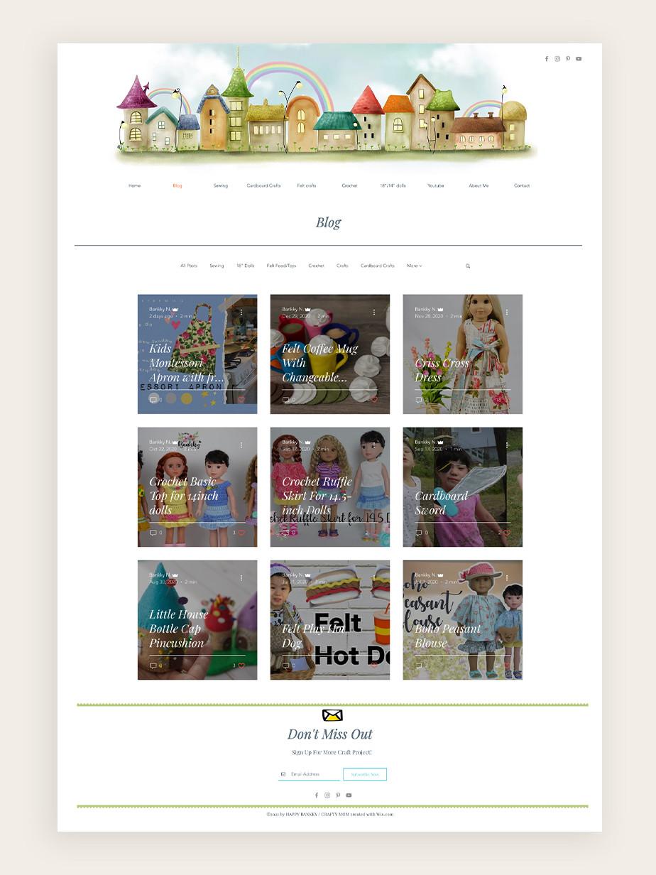 DIY craft blog made by Happy Bankky Crafty Mom