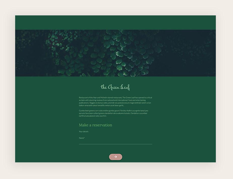Paperform online form