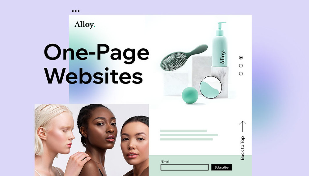 Best One-Page Websites for Your Inspiration [Plus Templates]