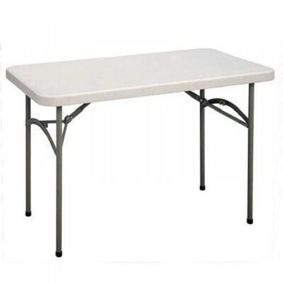 Rectangular Plastic Foldable Table