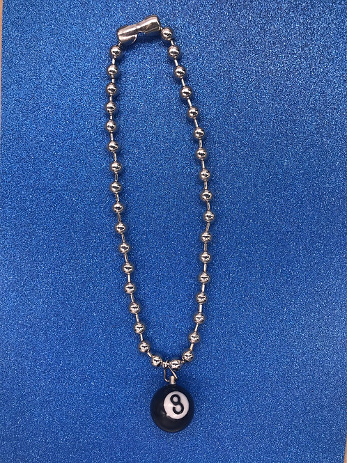 EXIT 8 BALL NECKLACE