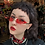 Thumbnail: FLAME SUNGLASSES RED