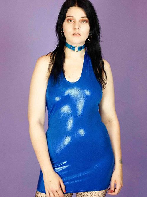 EMS THE LABEL BLUE DRESS
