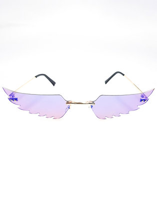 PURPLE WING GLASSES