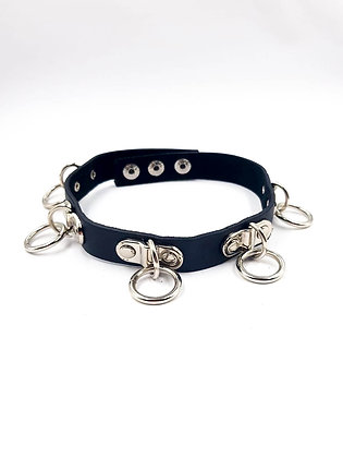COEXIST CHOKER WITH RINGS