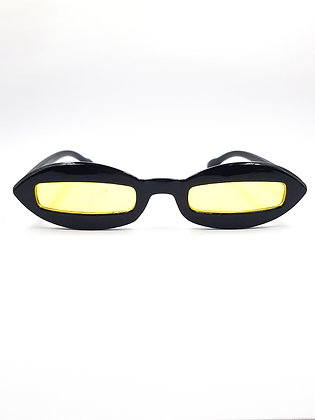 YELLOW OVAL GLASSES