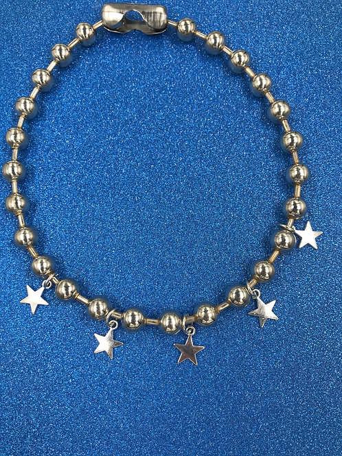 EXIT STAR BALL CHAIN NECKLACE