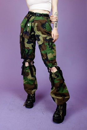 THERAPY UPCYCLED ARMY PANTS