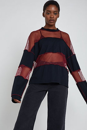 THE RAGGED PRIEST RED SWEATER