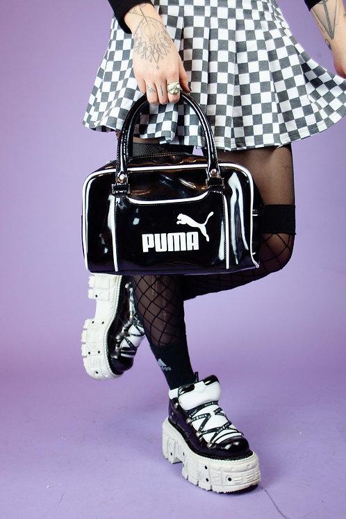 VINTAGE Y2K BLACK PUMA SHOULDER BAG