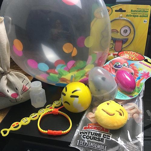 Cajita sensorial travel de emojis