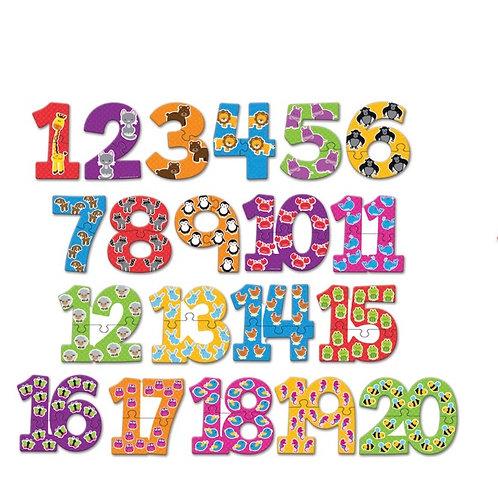 Rompecabezas de numeros