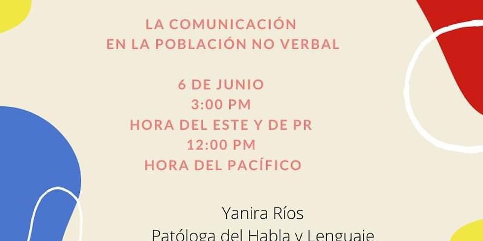 La comunicación en la población no verbal
