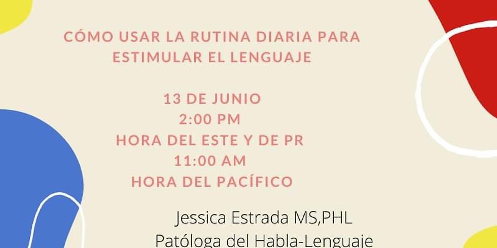 Cómo usarla rutina diaria para estimular el lenguaje