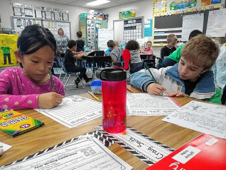 Dublin elementary school students write 'thank you' letters to veterans