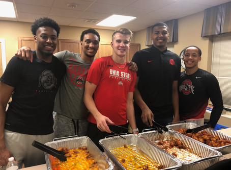 The Ohio State Men's Basketball Team