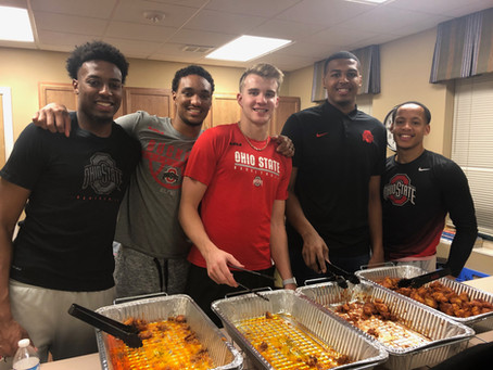 The Ohio State Men's Basketball Team