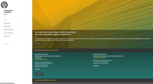 Canales Parga Abogados Laborales_desarrollo web
