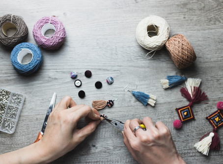 """""""Not a crafter? Here's why you should consider becoming one during the pandemic."""""""
