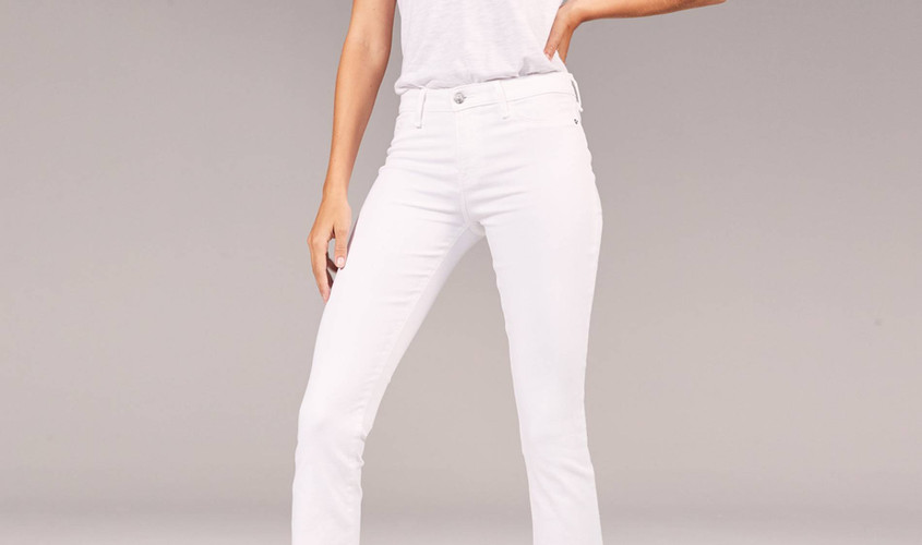 Low Rise Comfortable Stretch Bootcut Jeans