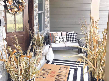Fantastic Ideas To Cozy Your Home With Farmhouse Fall Décor