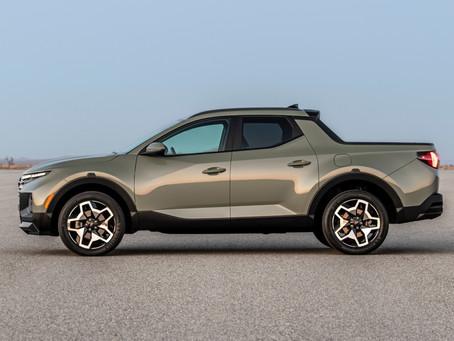 Introducing the NEW 2022 Hyundai Santa Cruz