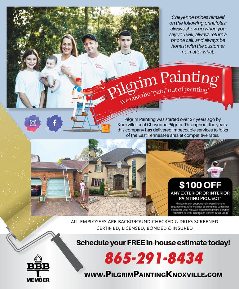 Pilgrim Painting