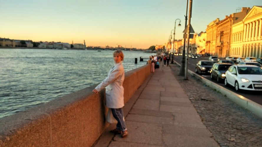 St Petersburg riverside