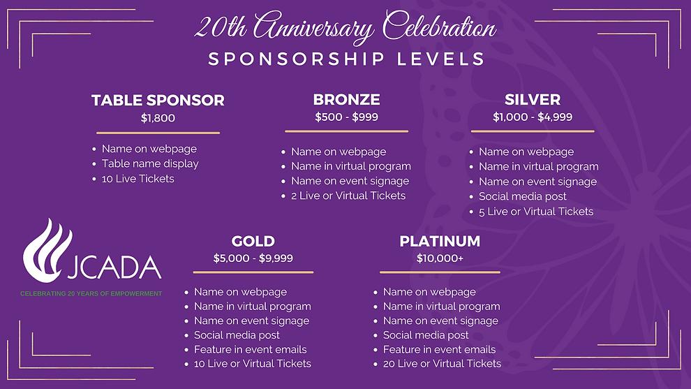 JCADA 20 Anniversary - Sponsor Levels FINAL.png