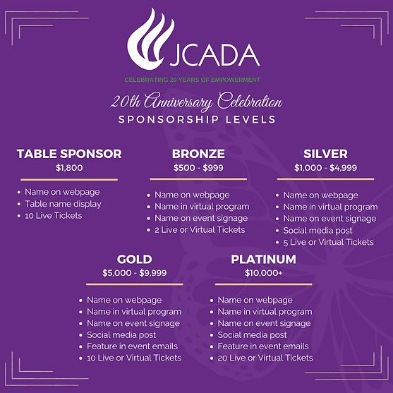 JCADA 20 Anniversary - Sponsor Levels Insta.png