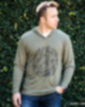 139Made Men's hoodie Micah 6:8. Ethically-made Christian apparel which gives back 10% of sales to fight human trafficking. https://www.139made.com