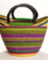 Eternal Threads Fair Trade Market Basket Tote