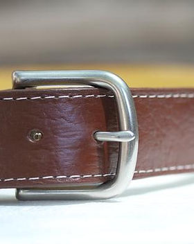 2nd story goods leather belt. Ethically made in Haiti. https://www.2ndstorygoods.com/collections/all-the-goods/clothing