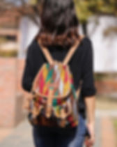 Sparrow Studio ethically made handwoven backpack. http://www.thesparrowstudio.com/bags/