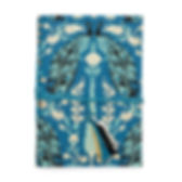 Sewing God's Seeds peacock journal. Fair trade and eco-friendly. https://sewinggodsseeds.com/market?category=Home+Goods
