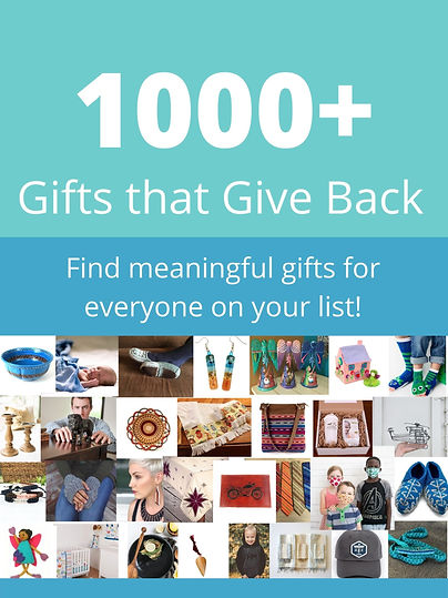 2020 Gifts that Give Back Guide.