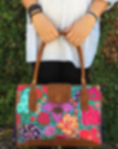 Shop With a Mission Fair Trade Embroidered Leather Purse